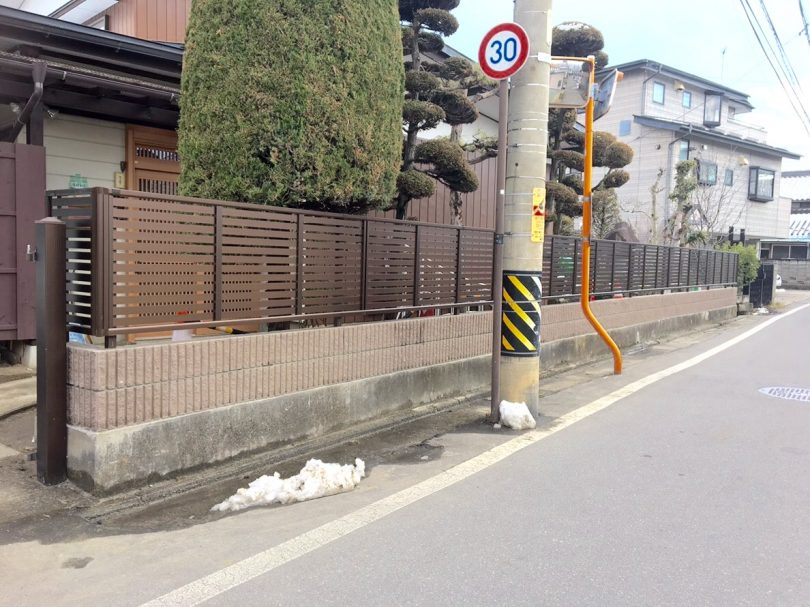 長野市の補助金を使用してのブロック塀改修工事を行いましたました。外構工事も鋼商コウショウにお任せ下さい。
