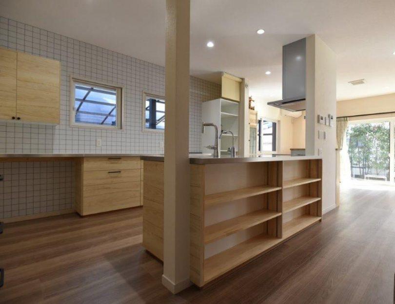 IKEAキッチン+KAZN wood warmsコラボ オリジナルキッチン