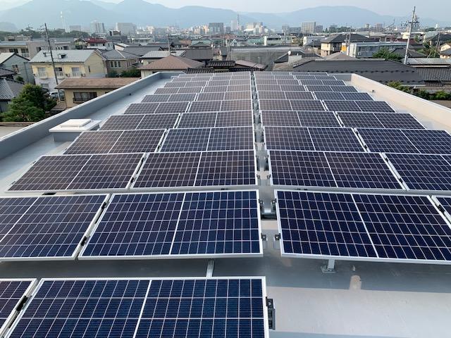 長野エリアでの太陽光発電は、防水処理も考慮した工事が出来る鋼商コウショウにお任せ。