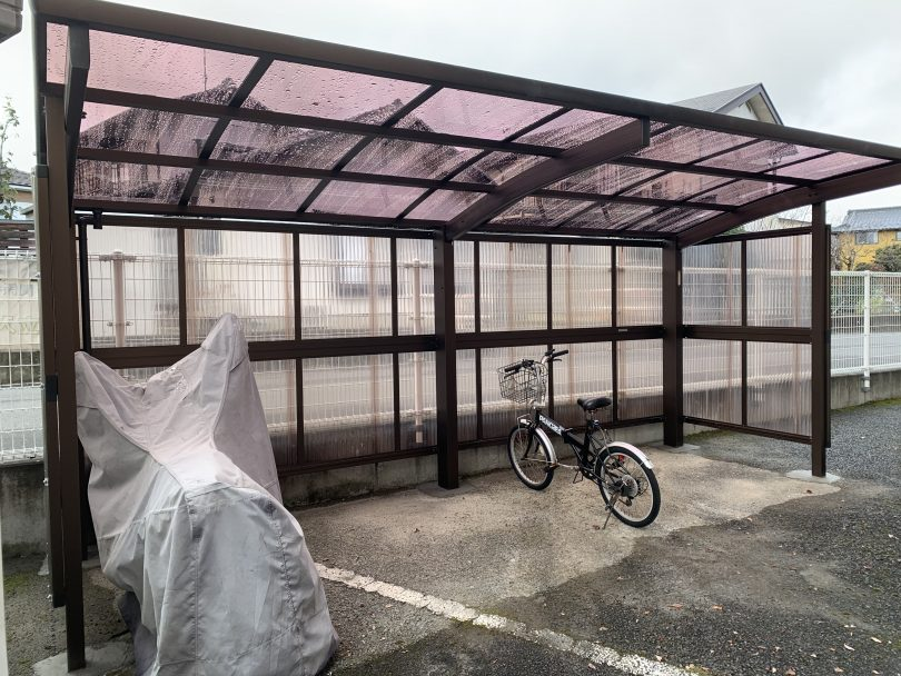 サイクルポート設置業者、自転車置場、長野、鋼商、こうしょう
