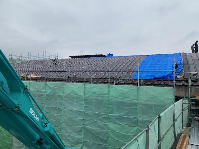 大型物件の屋根工事も鋼商にお任せください。
